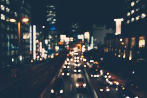 city blurred